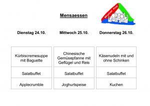Mensa 24.10.