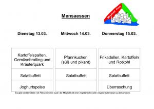 Mensa 13.03.