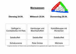 Mensa 24.04