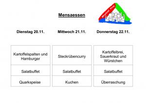 Mensa 20.11.