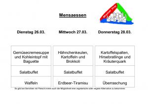 Mensa 26.03.19